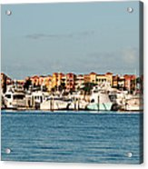 Olde Naples Seaport Acrylic Print