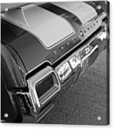 Olds Cs In Black And White Acrylic Print