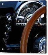 Oldsmobile 88 Dashboard Acrylic Print
