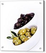 Olive Bowls Acrylic Print