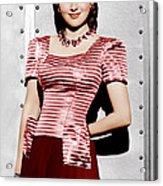 Olivia De Havilland, Ca. 1942 Acrylic Print by Everett
