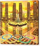 Olympia The City Of Ancient And New Champions Acrylic Print