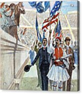Olympic Games, 1896 Acrylic Print