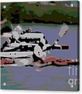 Olympic Lightweight Double Sculls Acrylic Print