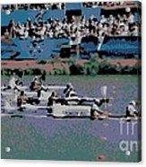 Olympic Rowing Acrylic Print