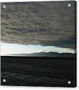 Ominous Black Storm Cloud Acrylic Print