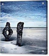 On A Coast Acrylic Print