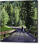On A Country Road - Vail Acrylic Print