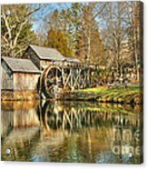 On A March Day Acrylic Print