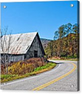 On A Roll In West Virginia 2 Acrylic Print