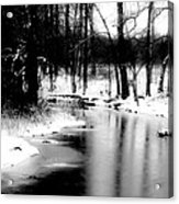On A Winter's Day Acrylic Print