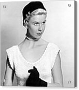On Moonlight Bay, Doris Day, 1951 Acrylic Print