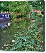 On The Canal Acrylic Print