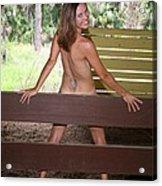 On The Fence 819 Acrylic Print
