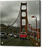 On The Golden Gate Acrylic Print