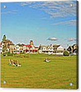 On The Green At Marthas Vineyard Acrylic Print
