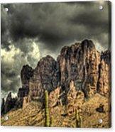 On The Mountain Acrylic Print