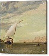 On The Nile Acrylic Print