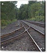 On The Rail Acrylic Print