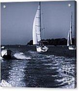 On The Water 1 - Venice Acrylic Print
