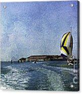 On The Water 2 - Venice Acrylic Print