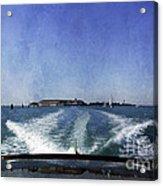 On The Water 5 - Venice Acrylic Print