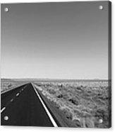 On U.s. Alt-89 Vermilion Cliffs Arizona Acrylic Print