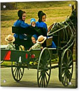 On Way Home From Church Acrylic Print