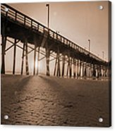 Once Every Morning  Acrylic Print