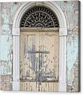 Once Proud Doorway Acrylic Print