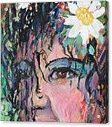 Once Upon A Time Woman Acrylic Print