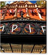 Once Was An Empire Acrylic Print