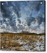 One Autumn Day Acrylic Print by Vladimir Kholostykh