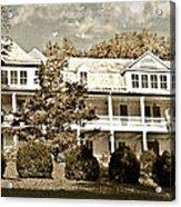 One Hundred Year Old Mountain Inn Acrylic Print