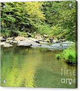 One Of Those Peaceful Places Acrylic Print