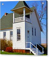 One Room School House No.2 Acrylic Print