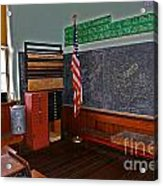 One Room Schoolhouse Acrylic Print