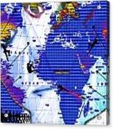 One Vs. World Acrylic Print
