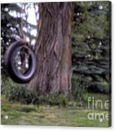 Only A Memory Pin-hole Photo Acrylic Print