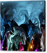 Only Fools Rush In Acrylic Print