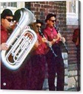 Oompah Band Acrylic Print