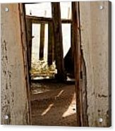Open Door Policy Acrylic Print