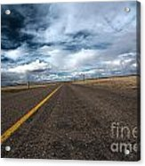 Open Highway Acrylic Print by Arjuna Kodisinghe