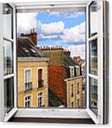 Open Window Acrylic Print by Elena Elisseeva