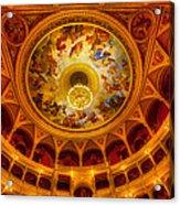 Opera-budapest Acrylic Print