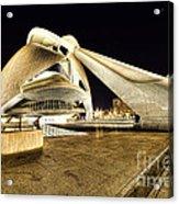 Opera Valencia Acrylic Print by Gabriel Calahorra