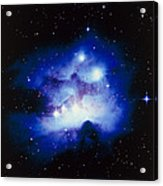 Optical Image Of The Nebula Ngc 1977 In Orion Acrylic Print