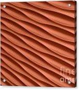Orange Artistic Background Acrylic Print