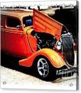 Orange Lighting II - No.9188 Acrylic Print
