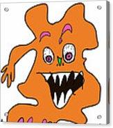 Orange Monster 1 Acrylic Print